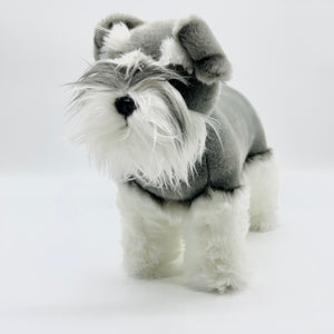 Sherlock the Schnauzer Plush Toy
