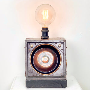 WWII British Military Tannoy Loudspeaker Lamp