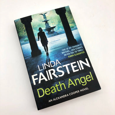 Death Angel Book by Linda Fairstein