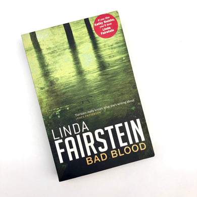Bad Blood Book by Linda Fairstein