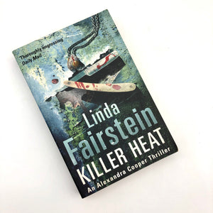Killer Heat Book by Linda Fairstein