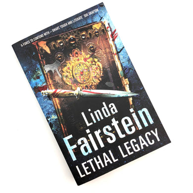 Lethal Legacy Book by Linda Fairstein