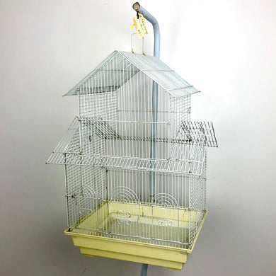 Large Bird Cage & Stand