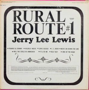 Jerry Lee Lewis, Rural Route #1