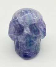 Load image into Gallery viewer, Flourite Crystal Skull