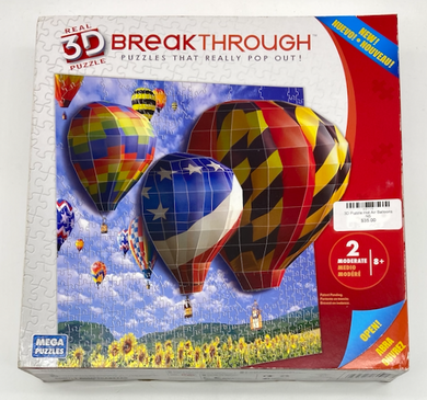 3D Puzzle Hot Air Balloons