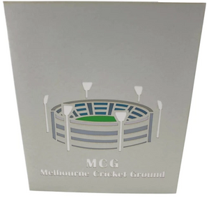 MCG Pop Up Card