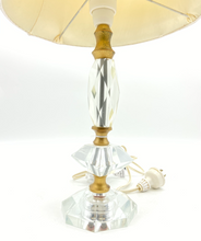 Load image into Gallery viewer, Vintage Lamp with Pleated Shad