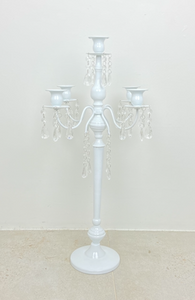 5 x Candelabra with Droplets