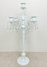 Load image into Gallery viewer, 5 x Candelabra with Droplets