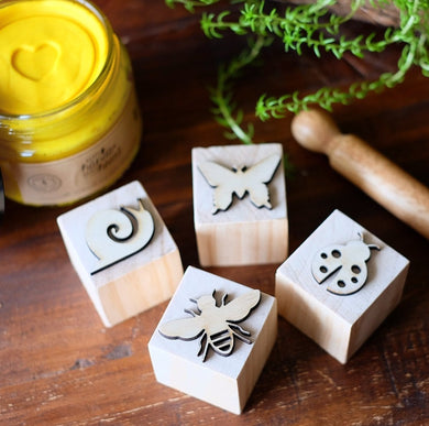 Insect Playdough Stamps