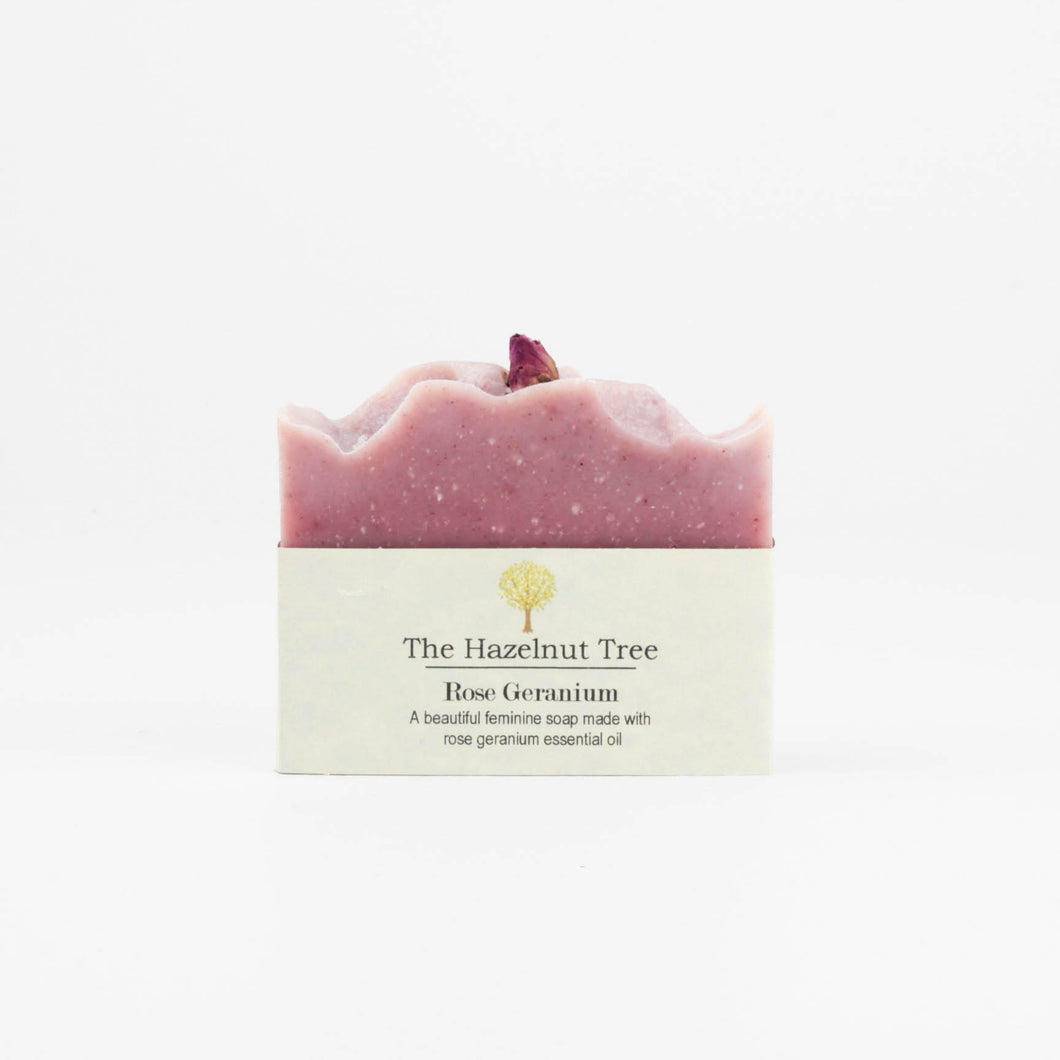 Soap Bar Rose Geranium