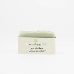 Soap Bar Spearmint Leaf