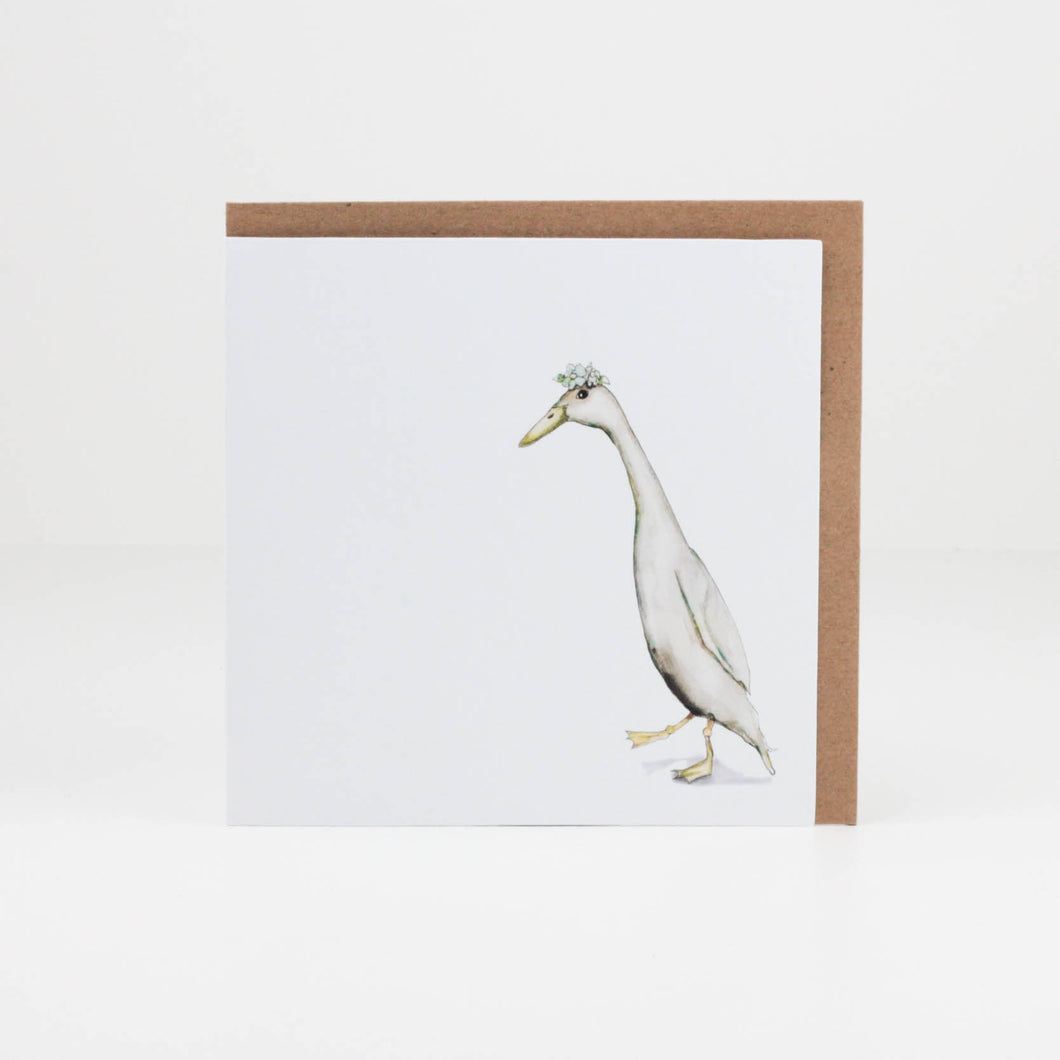 Goose (Square Card)