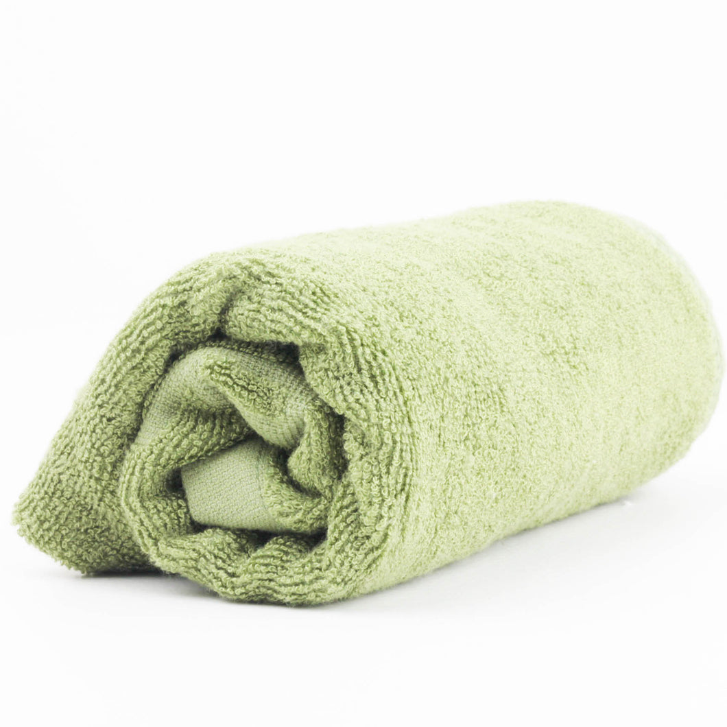 Bamboo Hand Towel (Green)