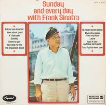 Load image into Gallery viewer, Frank Sinatra, Sunday and Every Day with Frank Sinatra