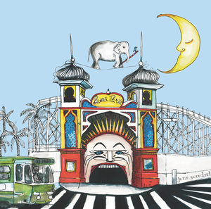 Luna park (square card)