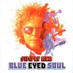 Simply red - blue eye soul