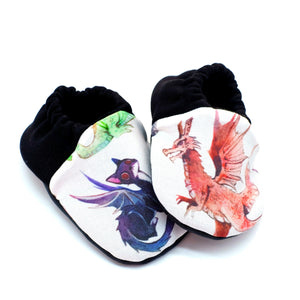 Among Dragons 6-12m Shoes