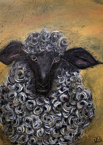 Sharon sheep (A4 print)