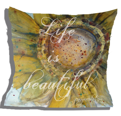 Life is beaut (cushion cover)