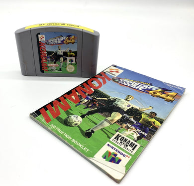 International Superstar Soccer N64