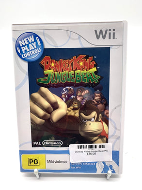 Donkey Kong Jungle Beat,Wii