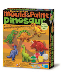 Dinosaurs Mould and Paint Kit