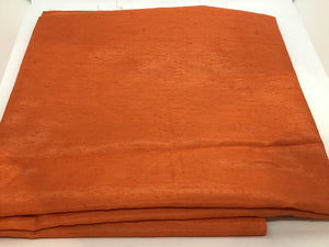F245 Orange Rayon Silk Mix