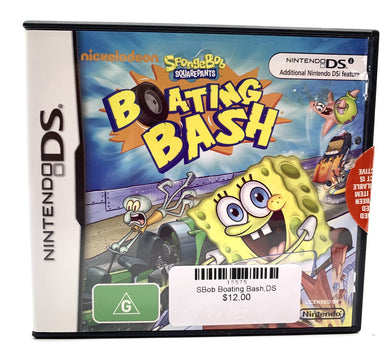 SpongeBob Boating Bash,DS