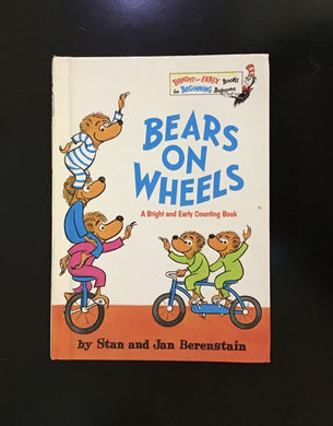 Berenstain Bears on wheels book
