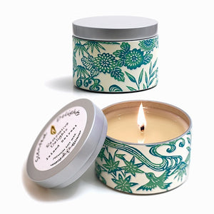 Island Retreat Soy Candle - 30hr Tin