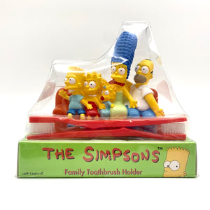 1997 Simpsons toothbrushes and holder