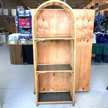 Load image into Gallery viewer, Cane & Bamboo 3 Tier Shelf Hutch