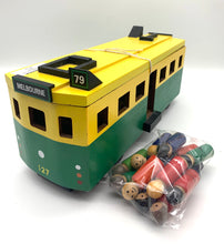Load image into Gallery viewer, Wooden toy Melbourne Tram
