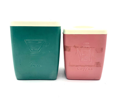 Set of 2 Nally Canisters V