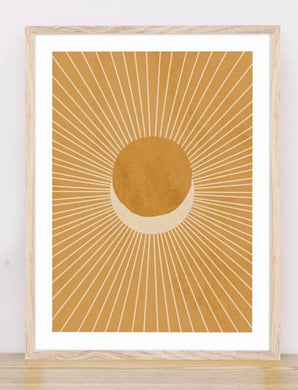 Oak Framed Boho Eclipse