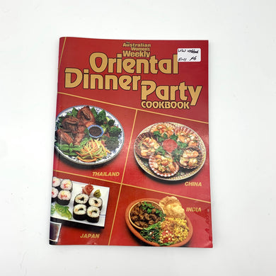 Women's Weekly Oriental Cook book