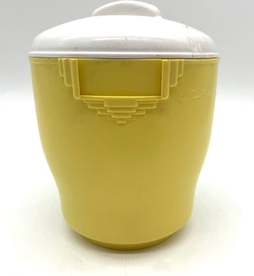 Bakelite Yellow/white canister