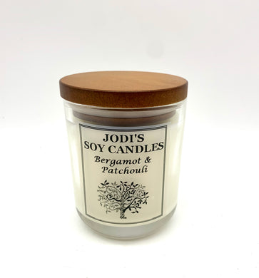 Medium Jar- Bergamot & Patchouli