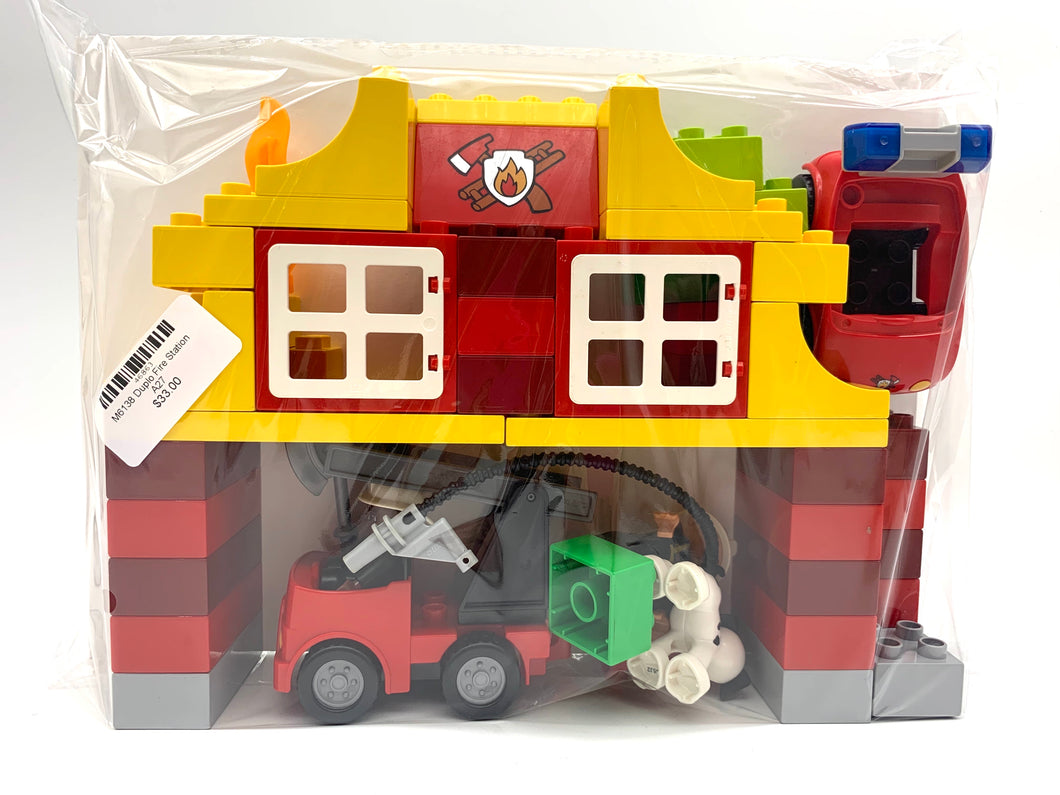 M6138 Duplo Fire Station