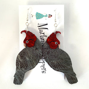 GangGang Cockatoo Earrings