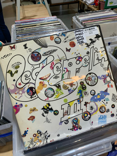 LED ZEPPELIN  - III (JAPAN PRESS 76'