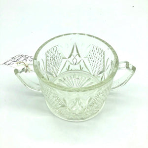 Glass Large Sugar Bowl
