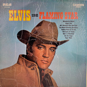Elvis Presley, Elvis Sings Flaming Star