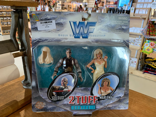 WWF 2 tuff 2pk Golddust and Marlena