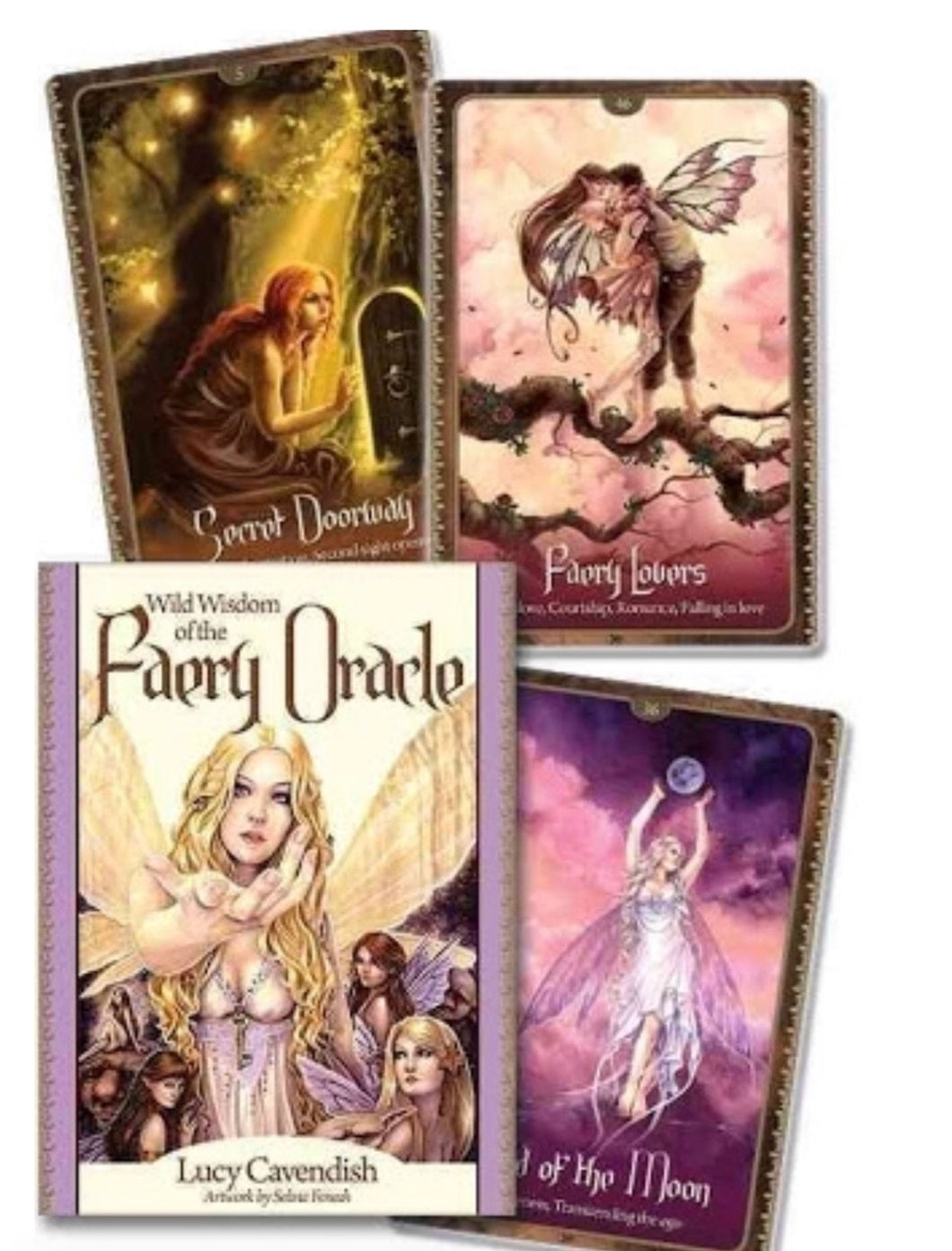 Wild wisdom of faery oracle cards