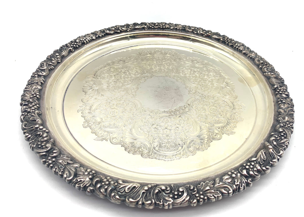 Hecworth Silver Plated Tray