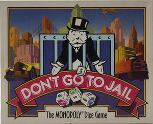 Vintage Monopoly Dice Game