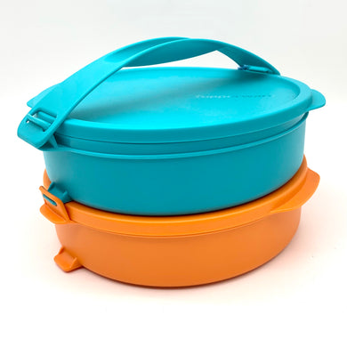 Tupperware Click and Go round